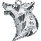 Wolf - Bag Charm/ Keyring - Mystic Moments UK