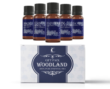Woodland | Essential Oil Gift Starter Pack - Mystic Moments UK