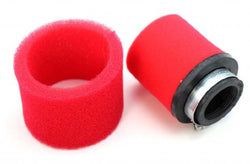 AIR FILTER, 38-40mm. FOAM RED