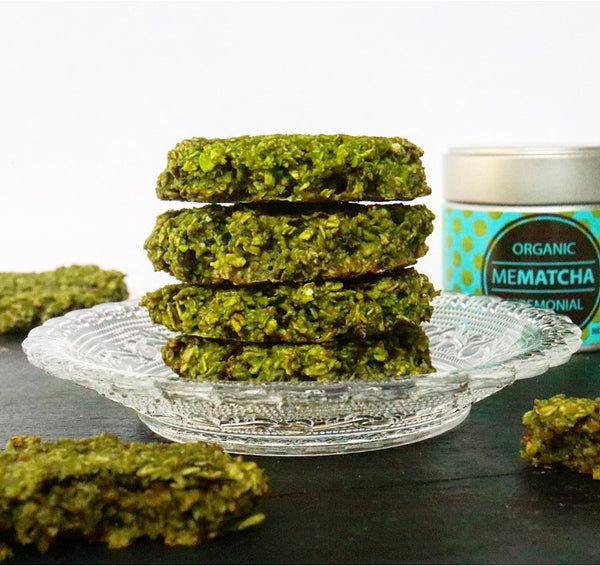 Matcha Oatmeal Cookies Recipe