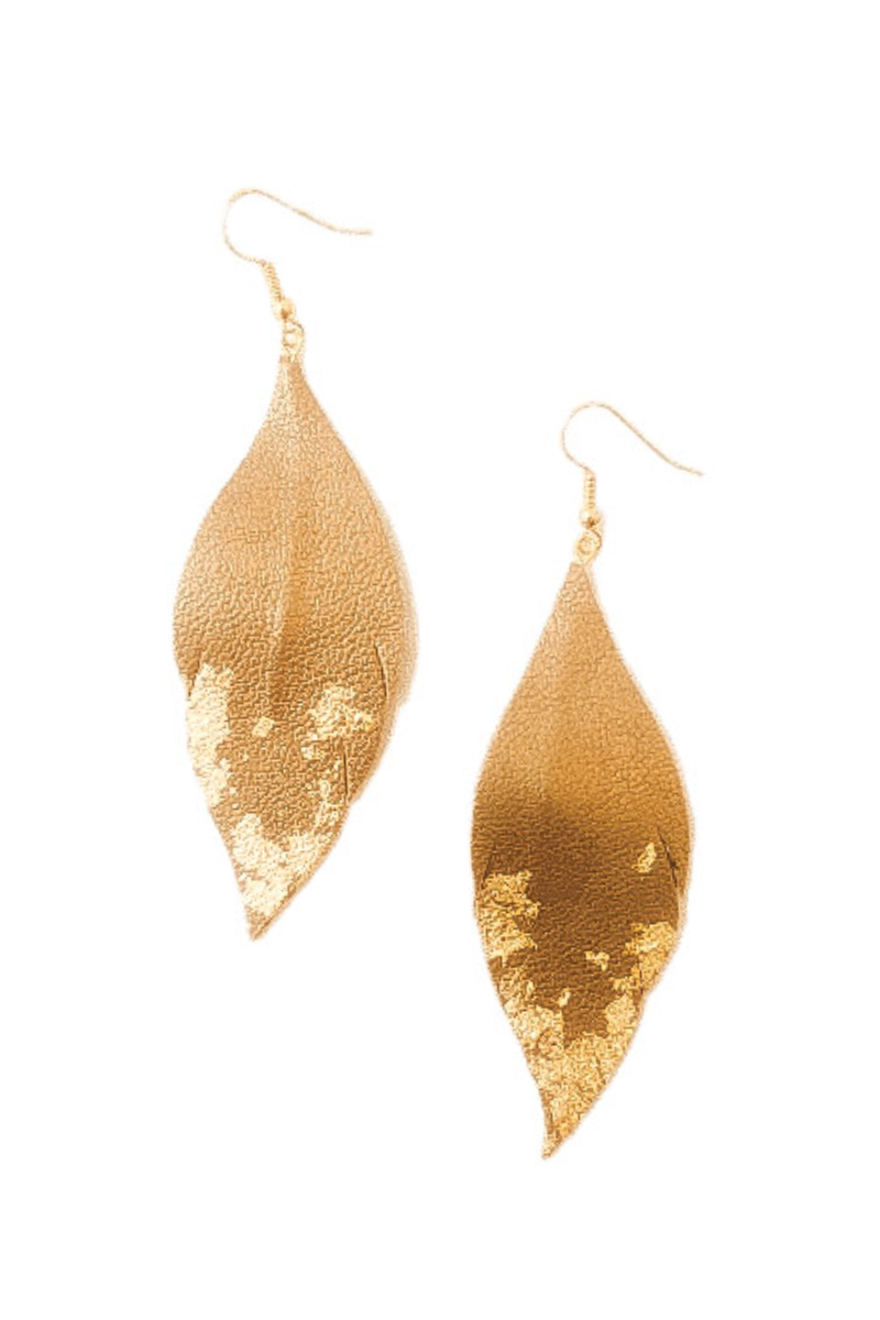 Lux Feather Earrings - 5 Colours