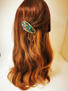 Jewelled Hair Clip - Range of colours