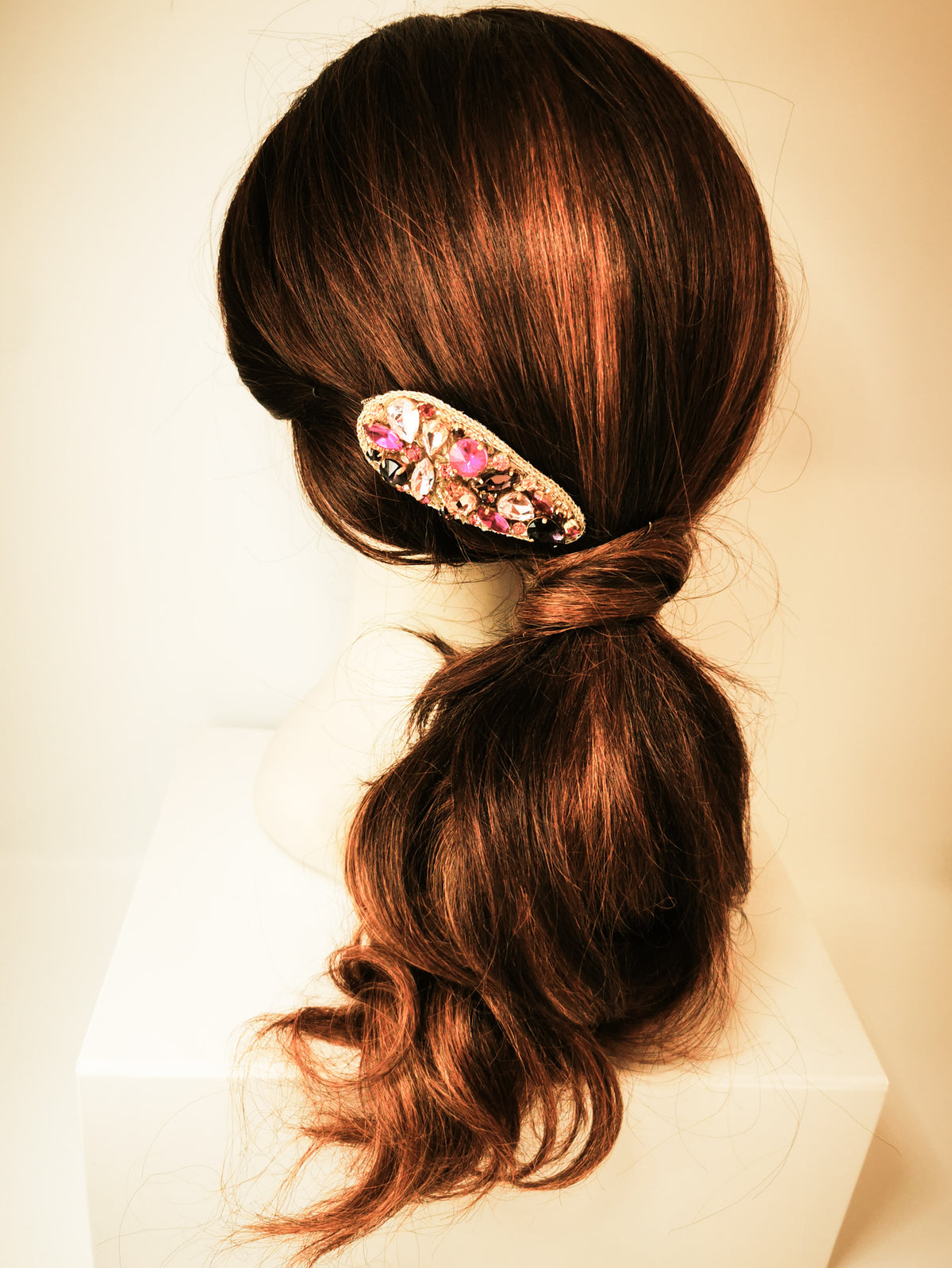 Jewelled Hair Clip - Six colours