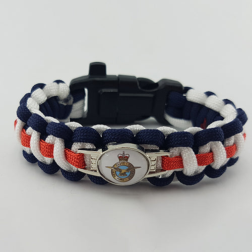 North Yorkshire Fire /& Rescue Badged Survival Bracelet Tactical Edge.