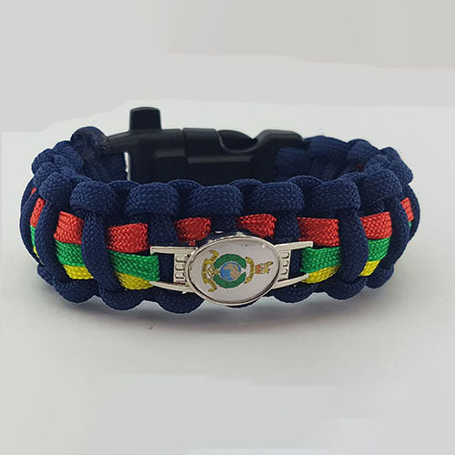 RAMC Help for Heroes Inspired Paracord 550 Bracelet