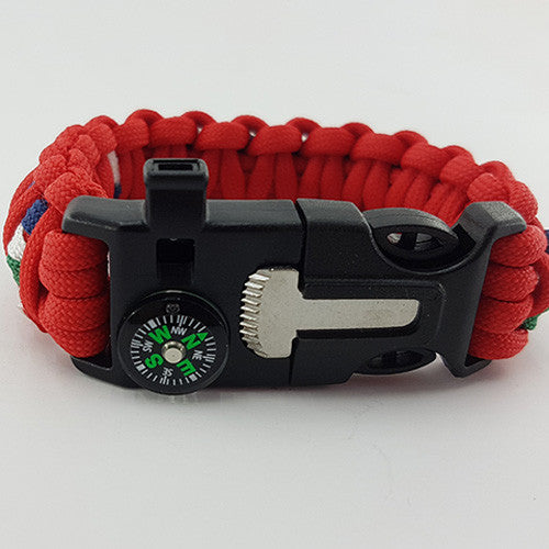 British and Irish Lions Rugby with Badged Logo /& Team Colours Bracelet Gift