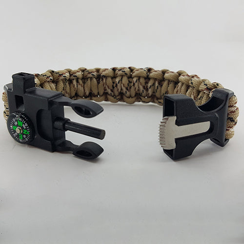 French Foreign Legion Badged Survival Bracelet Tactical Edge.