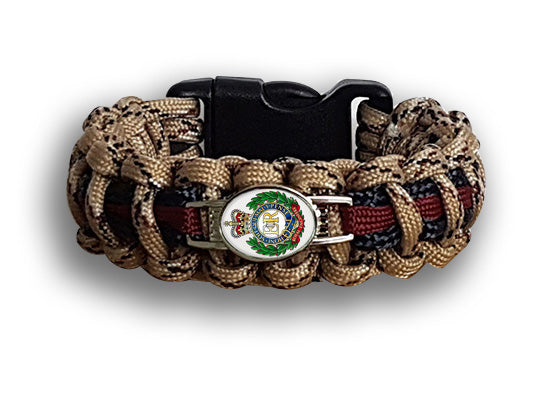South Central Ambulance Service Badged Survival Bracelet Tactical Edge. SCAS