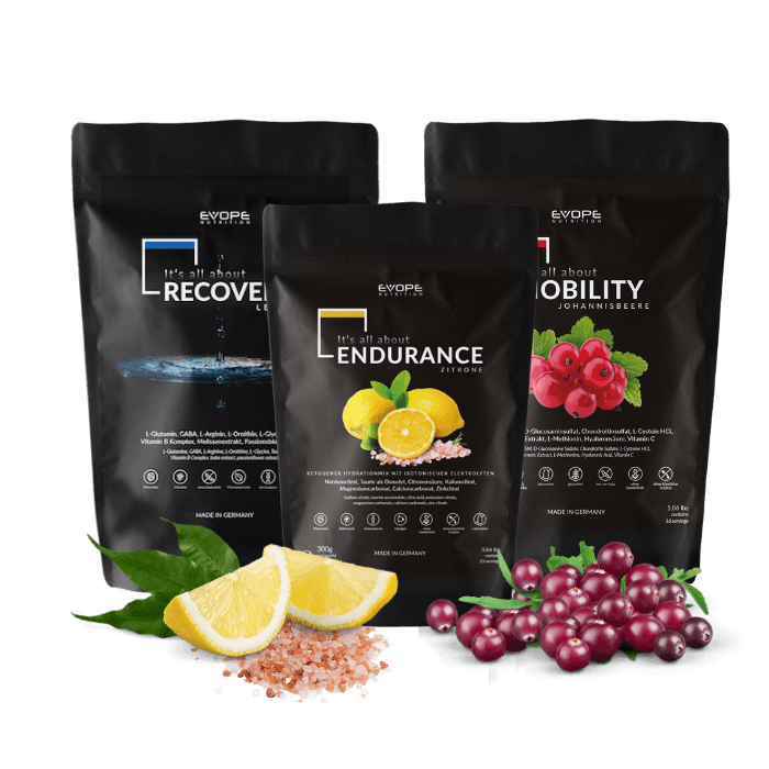 Limitless Workout Set I Gelenke, Elektrolyte & Regeneration - EVOPE NUTRITION