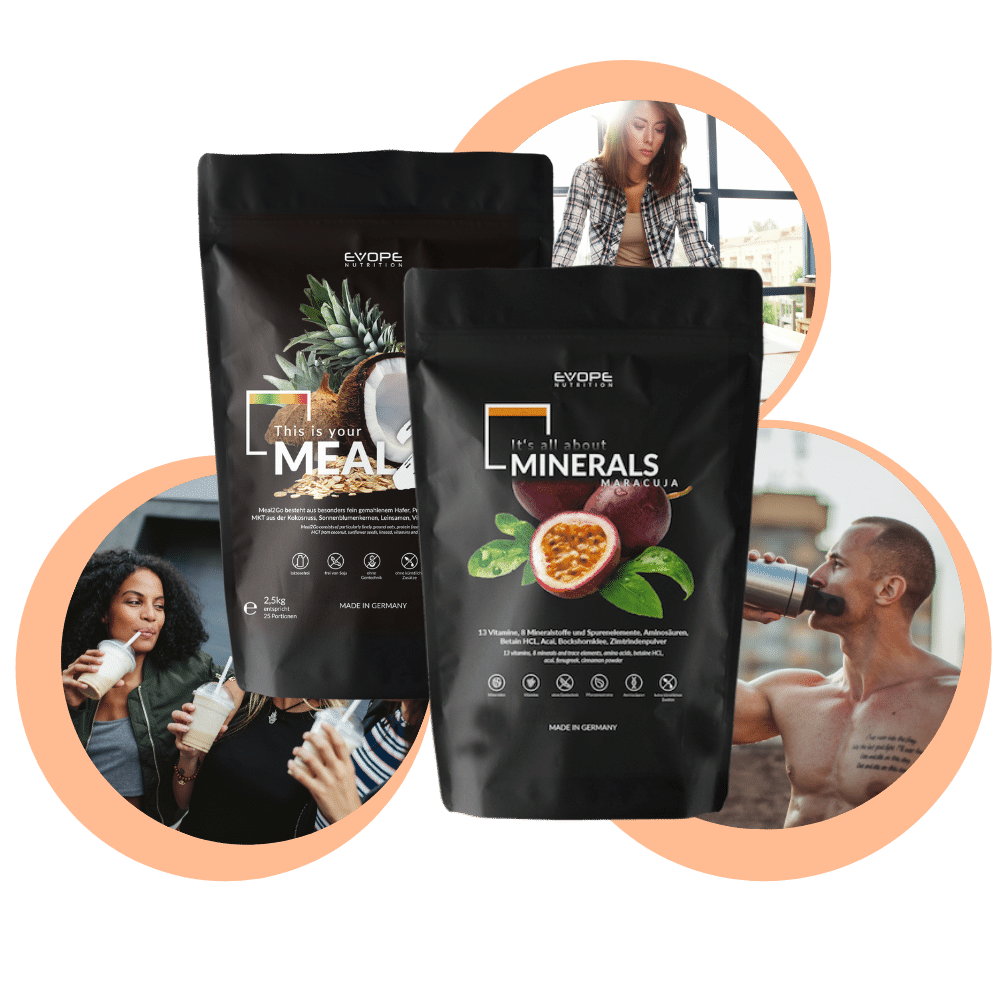 Morning Starter Set | Tagesperformance | Mealreplacement - EVOPE NUTRITION
