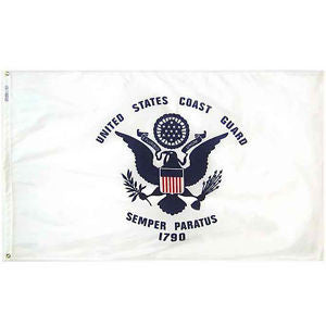 3'x5' Coast Guard Nylon
