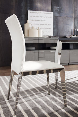 Modrest Daytona - Modern White Dining Chair