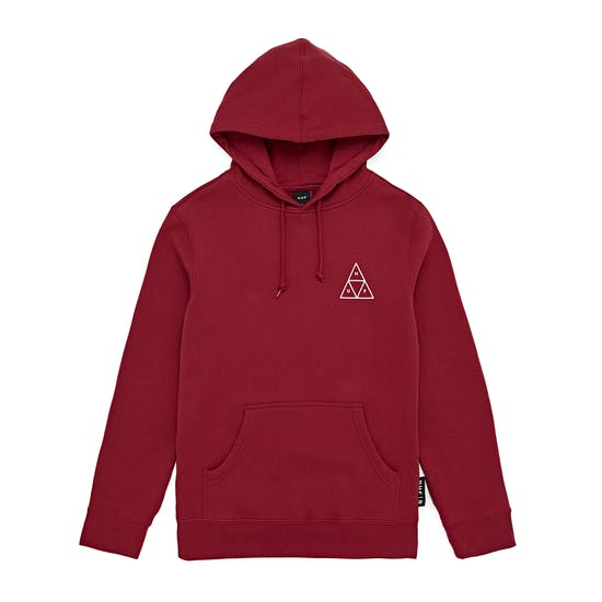 Felpa HUF Triple Triangle Rio Red