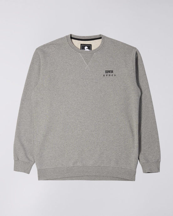 Felpa girocollo EDWIN Base Crew Sweat