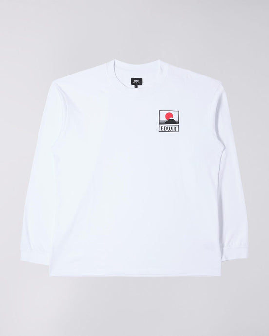 T-shirt Manica lunga EDWIN Sunset on Mt Fuji
