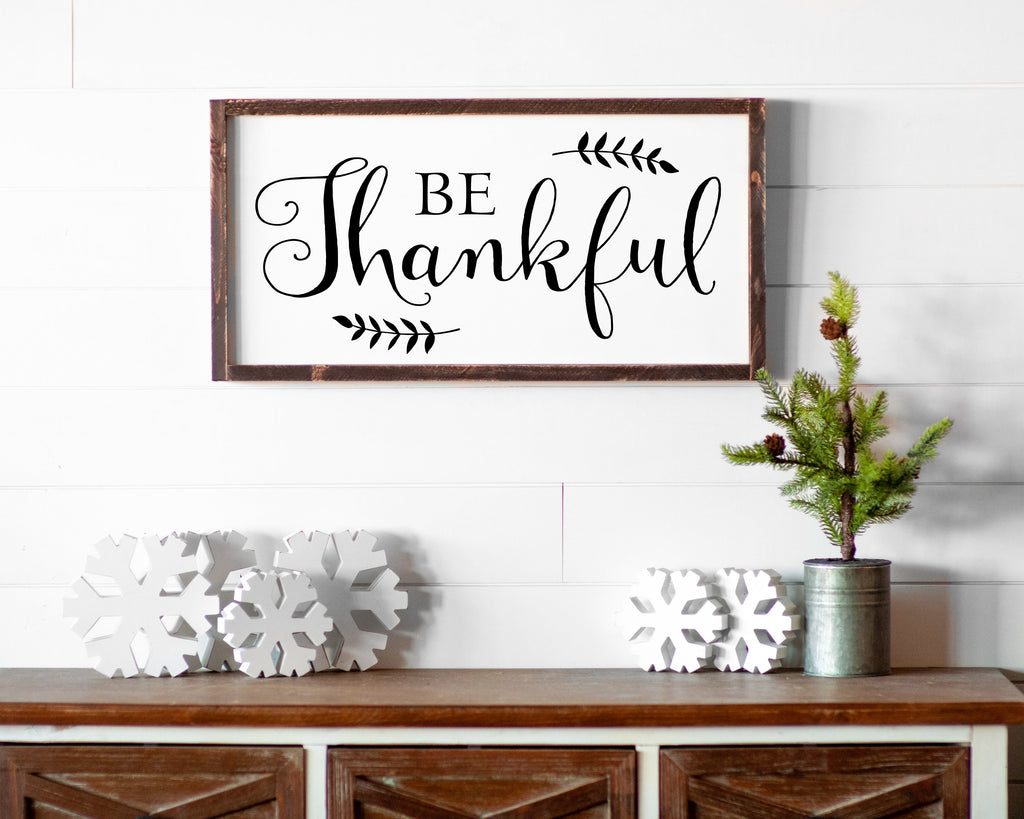 Be Thankful - For Oak Hills Event