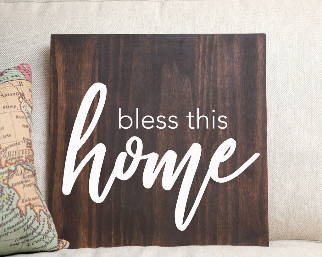 Bless This Home - For Crosspointe Event