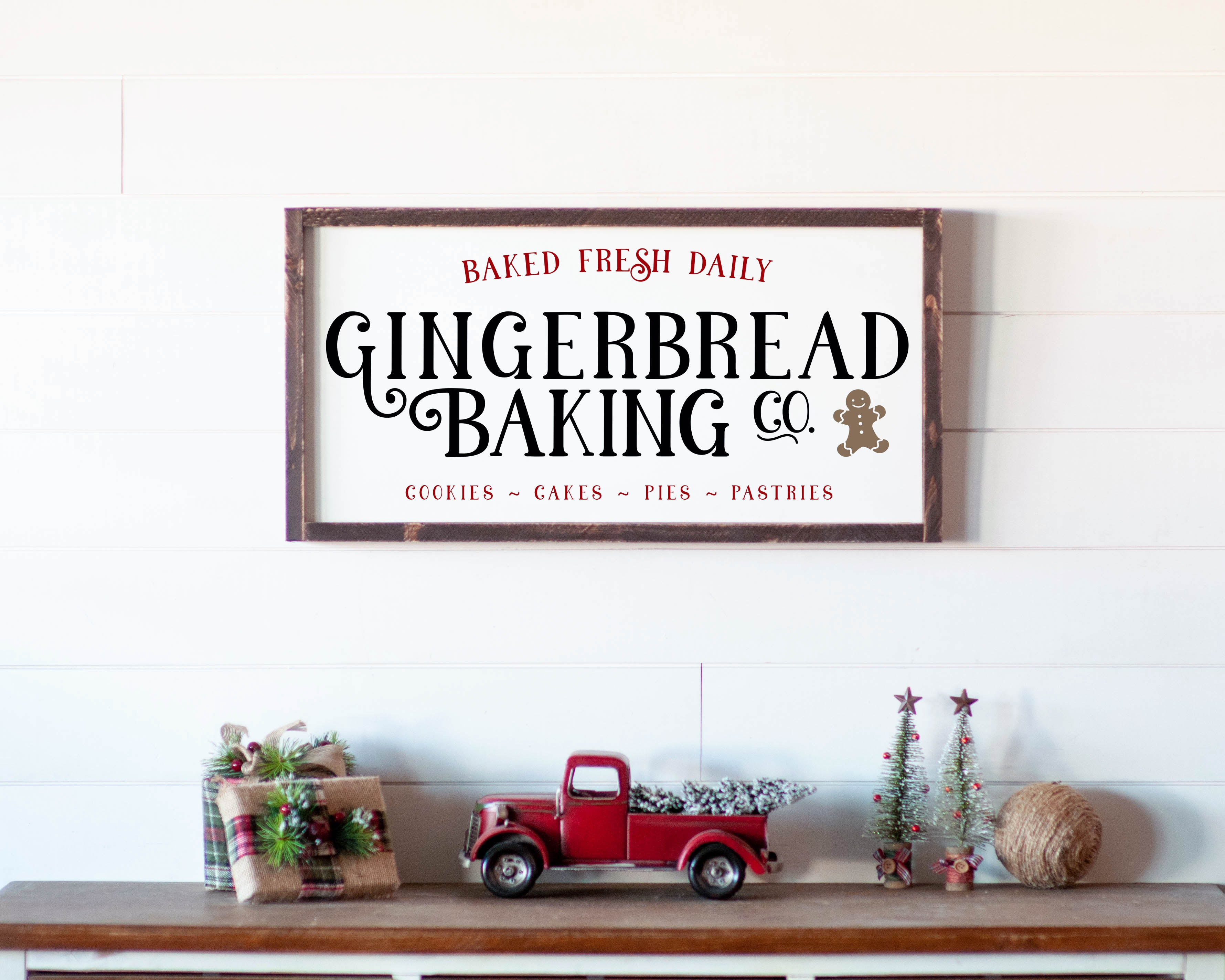 Gingerbread Baking - For RamJack Event