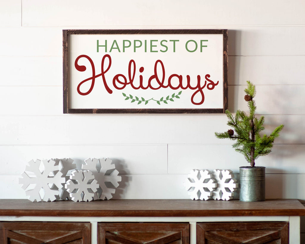 Happiest of Holidays - For Oak Hills Event