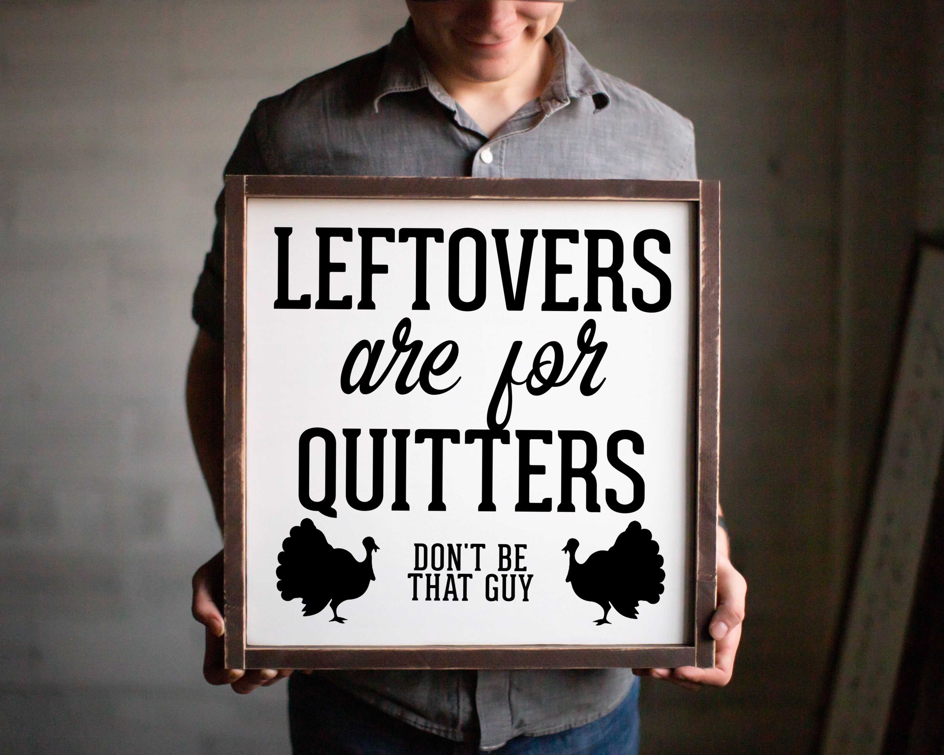 Leftovers are for Quitters - For Oak Hills Event