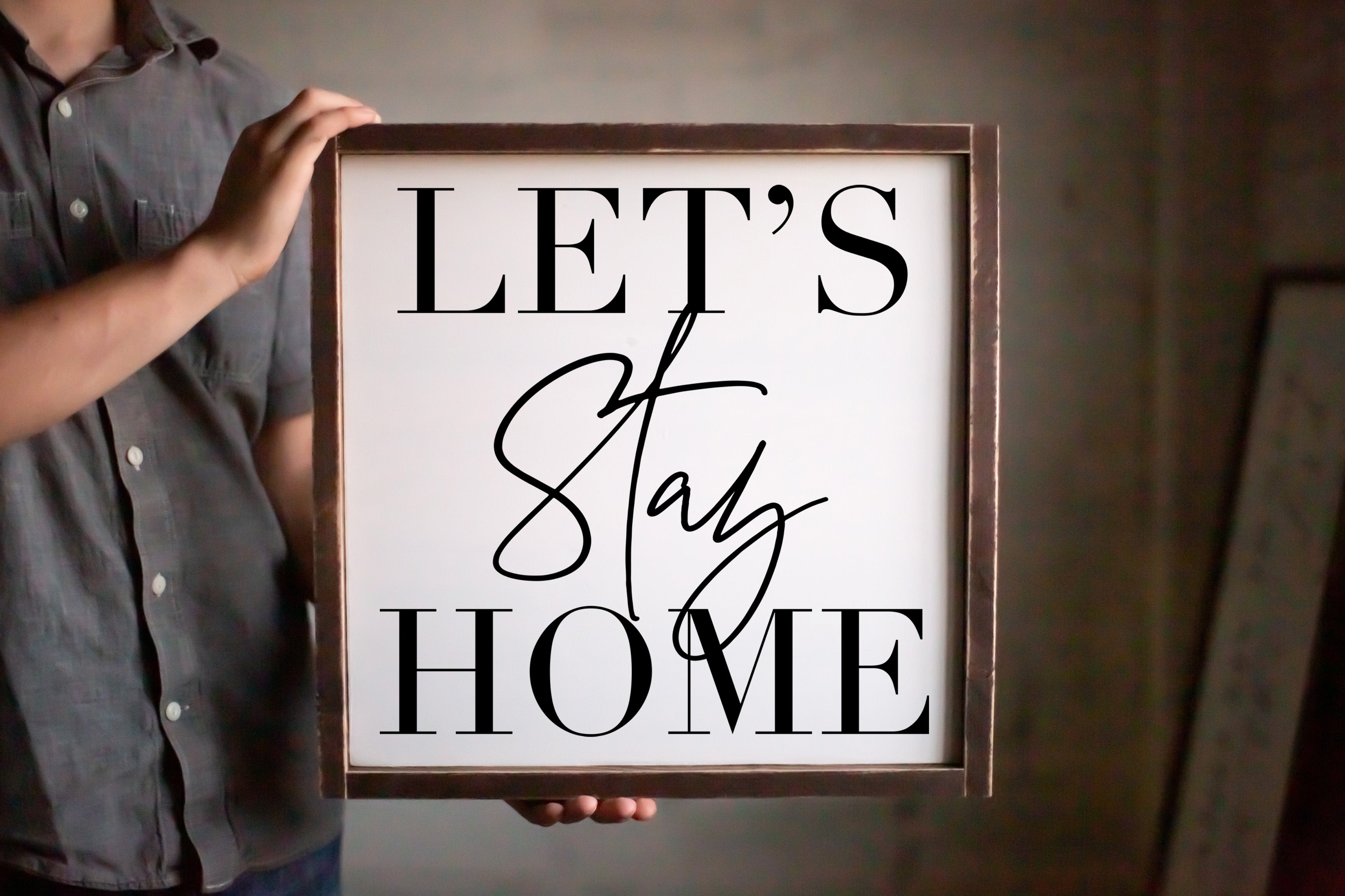 Let's Stay Home - For Oak Hills Event