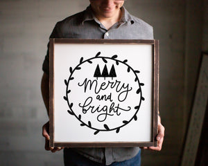 Merry & Bright (square) - For Oak Hills Event
