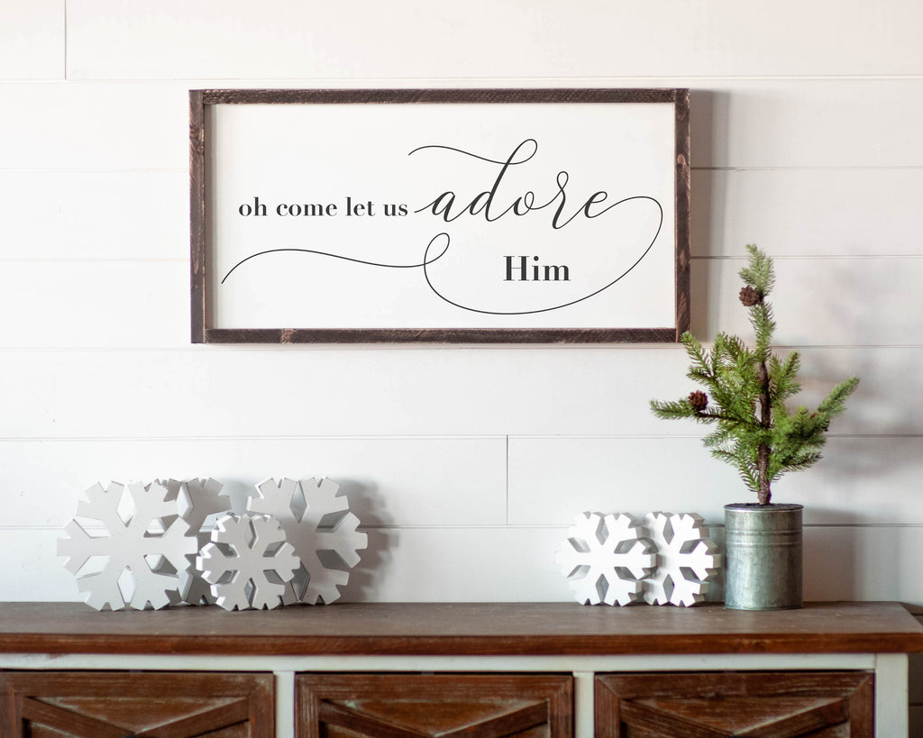 Oh Come Let Us Adore Him - For Oak Hills Event