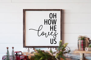 Oh how He loves us - For Oak Hills Event