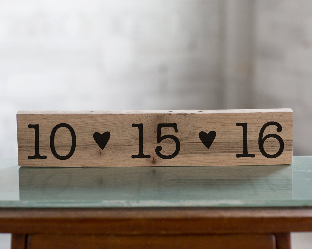 Personalized Save the Date Wedding Sign Decor | Gift for Her | Wedding Gift  | Engagement Gift