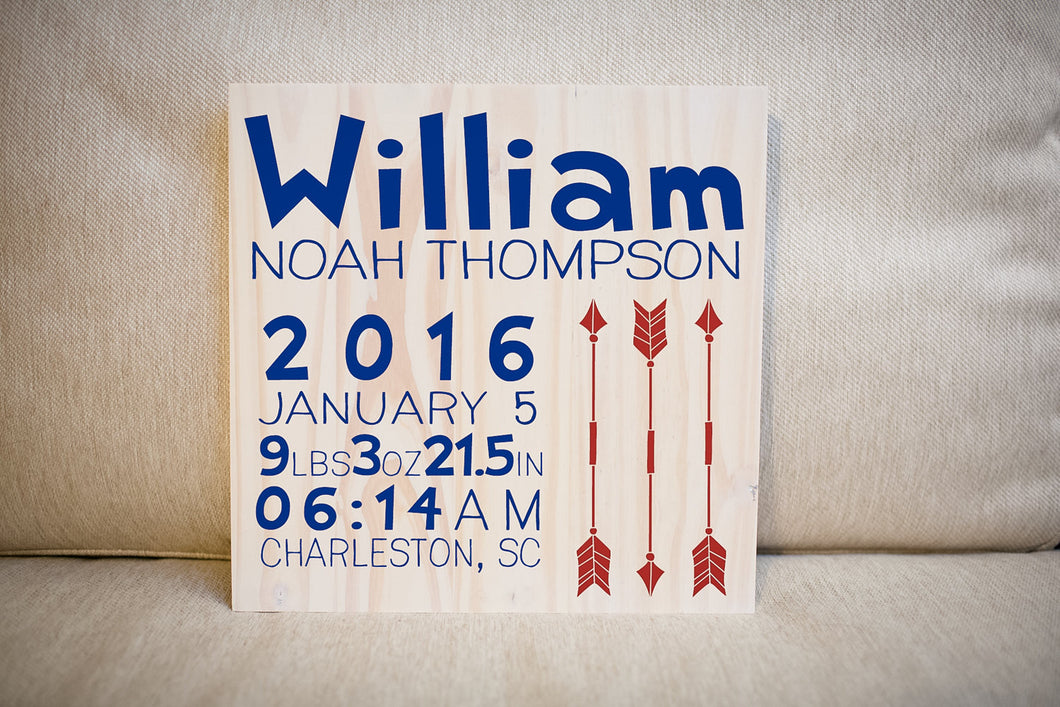 Personalized newborn baby gift sign nursery decor personalized personalized newborn baby gift sign nursery decor personalized name sign baby shower gift negle Images