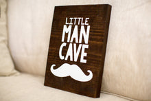Little Man Cave Wood Sign Home Decor | Baby Boy Shower Gift | Boy's Room Decor | Baby Gift