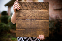 Reclaimed Blank Pallet Wood Canvas Sign | Blank Wood Sign | Stained Pallet Sign | Gift For Her