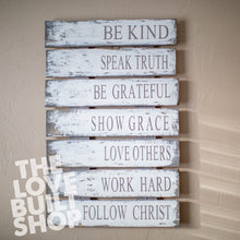 Family Rules Sign | Christian Values sign | Family Values | Gift for Her | Family Rules Sign