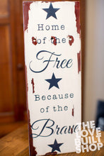 Handmade Wood Patriotic  Sign | Gift For Dad | Military Gift | Man Cave