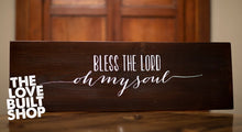 Bless the Lord Oh My Soul Wood Sign | Christian Wood Sign | Blessed Wood Sign | Christian Decor