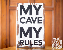 Man Cave Wood Sign | Gifts For Him | Boy Sign | Gifts For Men | Fathers Day Gift | Mens Room