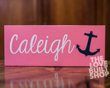 Personalized Gift For Her | Custom Nautical Name Sign Handmade Wooden Wall Decor