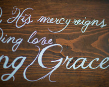 Home Decor Rustic Christian Amazing Grace Song Wood Sign | Gift For Her | Hymn Sign | Religious Gift