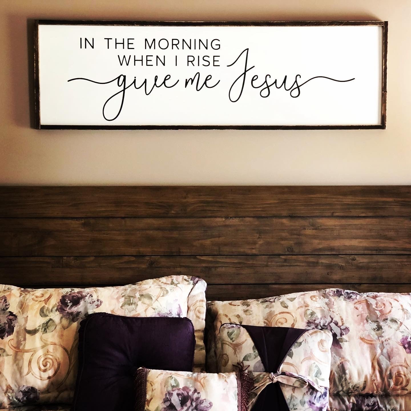 Give Me Jesus Large Farmhouse Sign