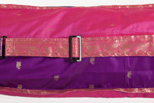 Upcycled Sari Yoga Mat Bag | Pink