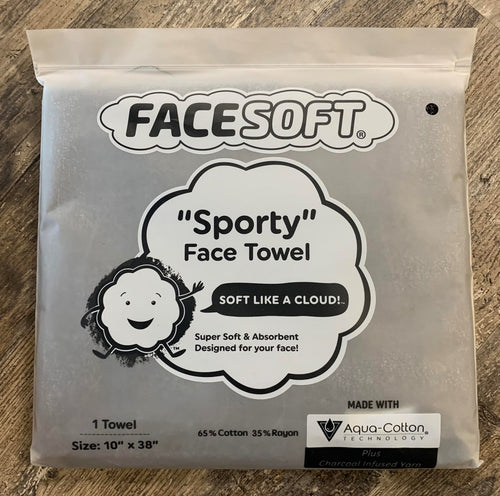 FaceSoft Towel - Activated Charcoal