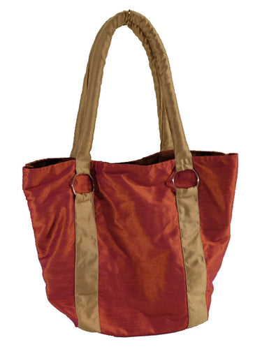 Raw Indian Silk Tote | Diana