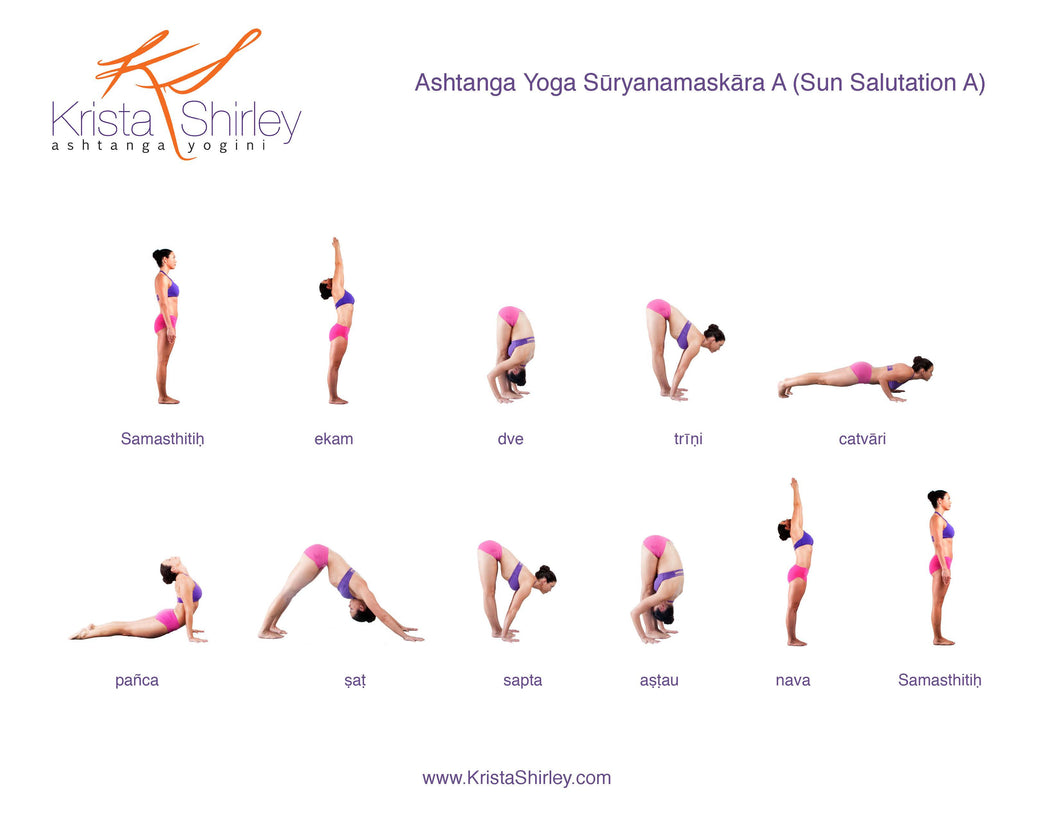 Ashtanga Primary Series Practice Cards