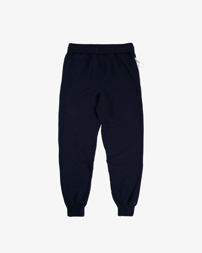 OVERSIZED SWEATPANT: BLOC (DARK BLUE)