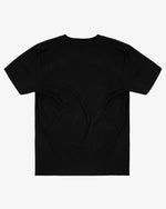 OVERSIZED TEE SHIRT: JOKER (BLACK)