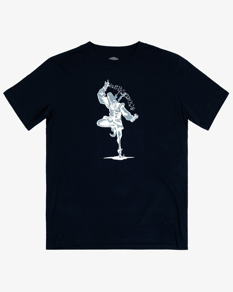 OVERSIZED TEE SHIRT: JOKER (BLUE)