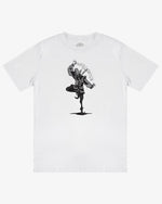 OVERSIZED TEE SHIRT: JOKER (WHITE)