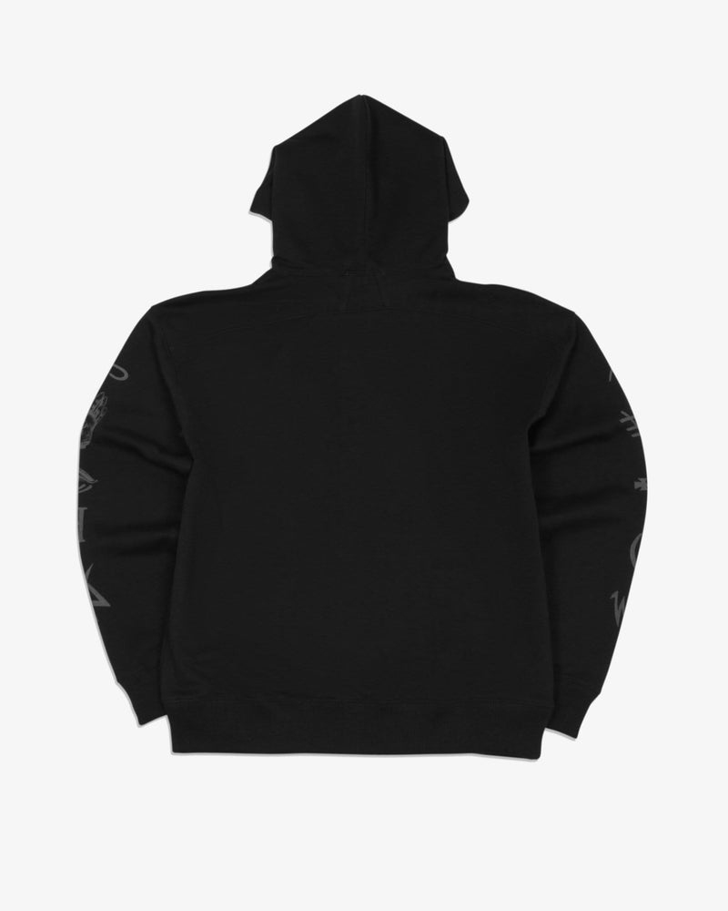 Oversized Hoodie Good and Evil Spirits (Black)