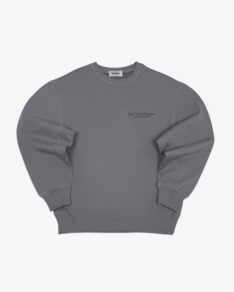 Load image into Gallery viewer, Oversized Sweatshirt La Lutte Éternelle (Graphite)