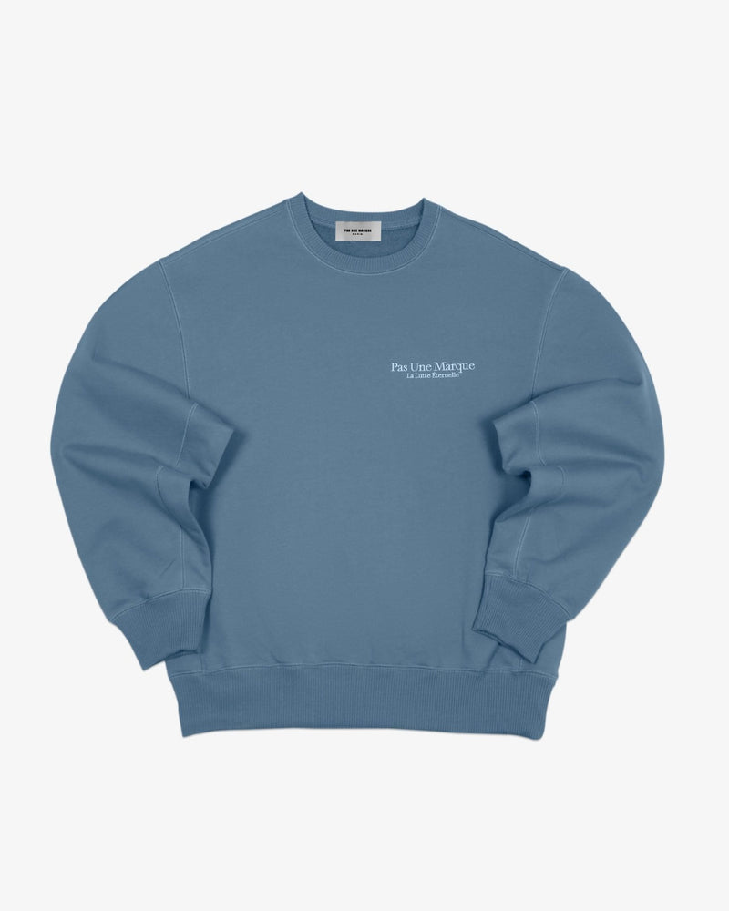 Oversized Sweatshirt La Lutte Éternelle (Heather Blue)
